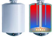 boiler pe gaz